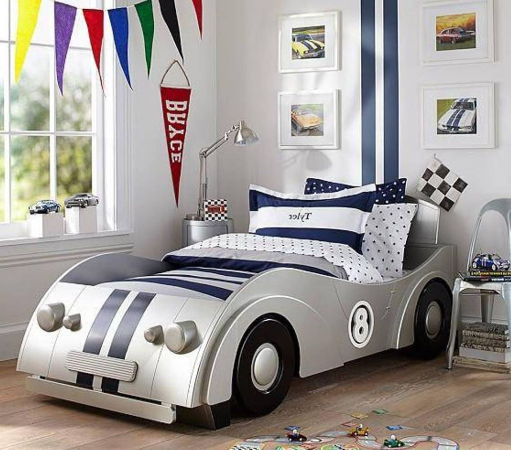 Race Car Bed Toddler Boy
