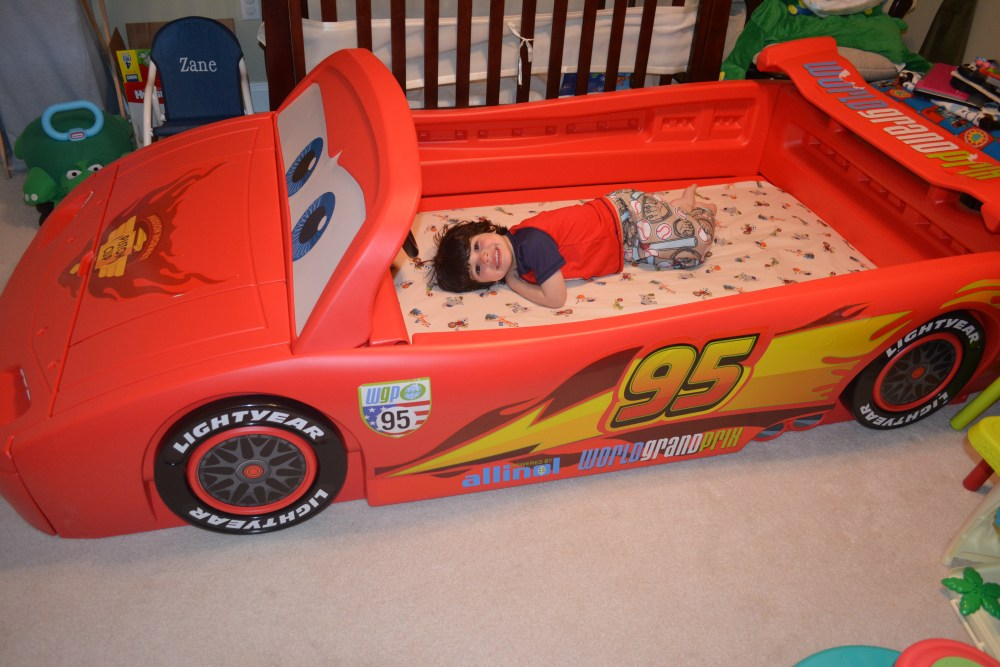 Race Car Bed Toddler To Twin