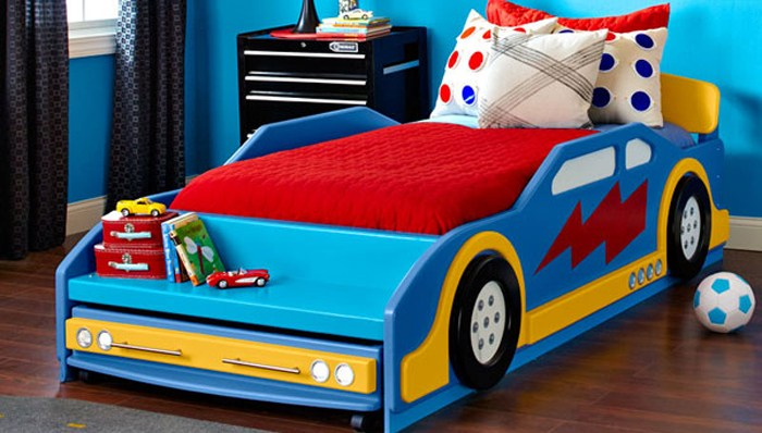 Race Car Toddler Bed Plans