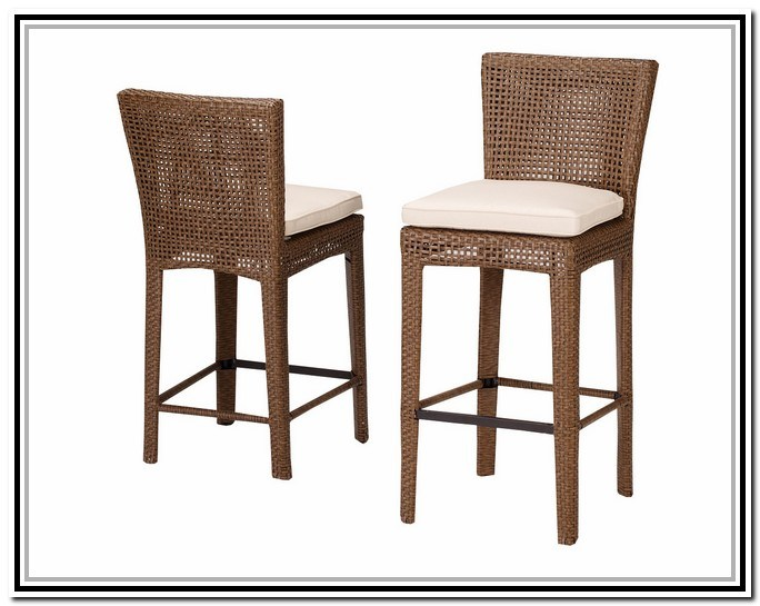 Rattan Bar Stools Counter Height