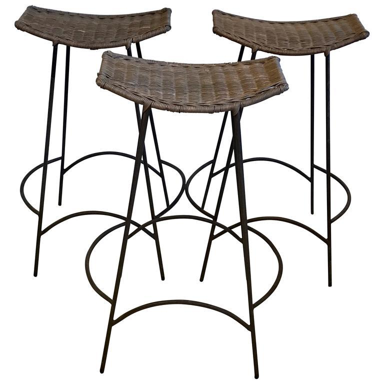 Rattan Bar Stools For Sale