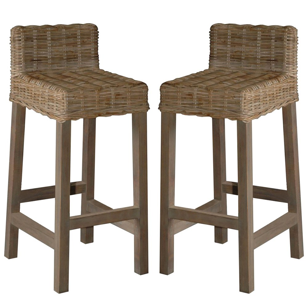 Rattan Bar Stools Uk