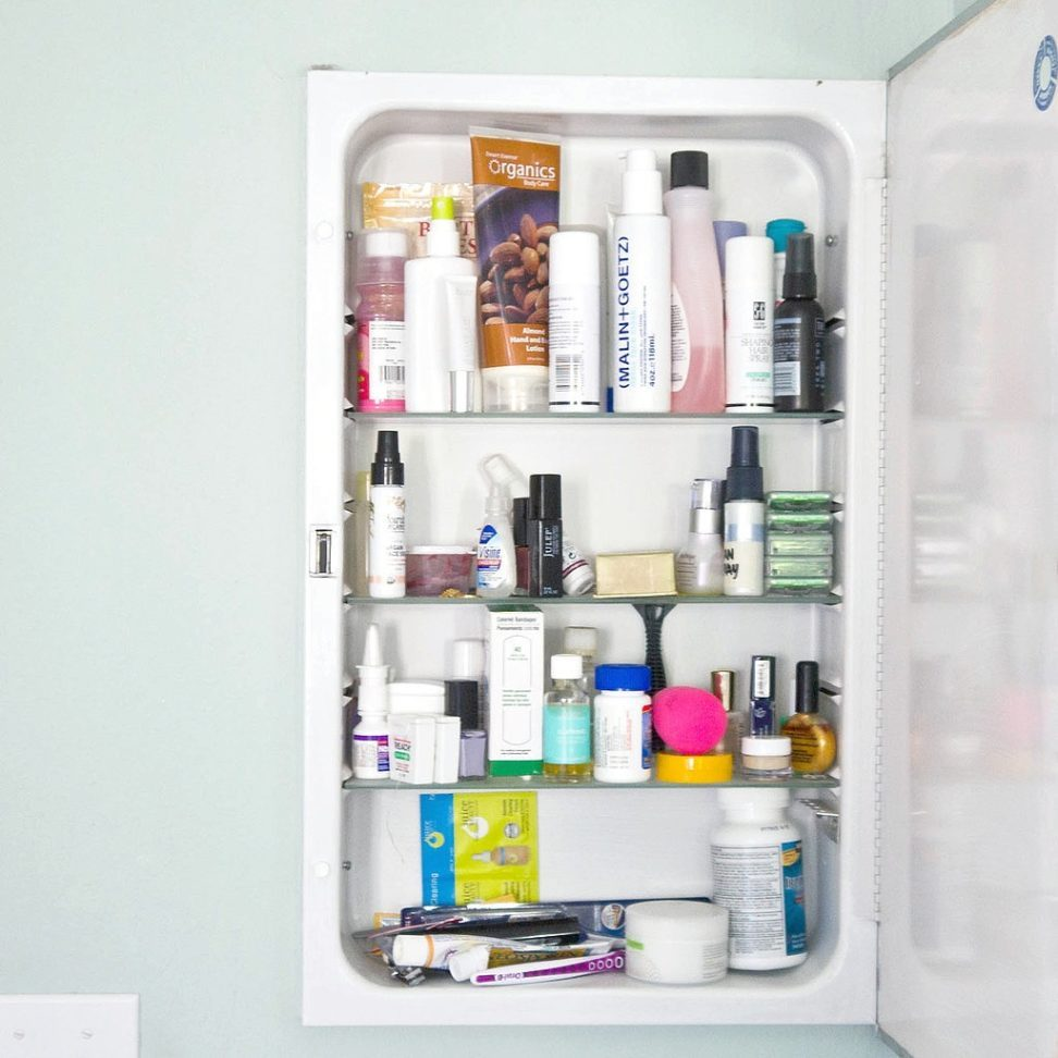 Real Simple Medicine Cabinet Organization