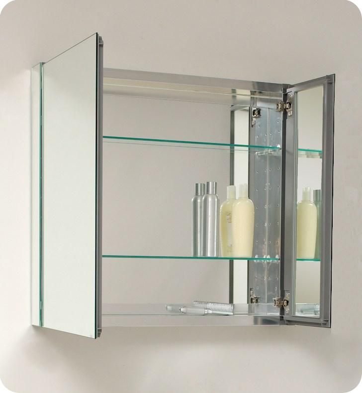 Recessed Bathroom Medicine Cabinets With Lights