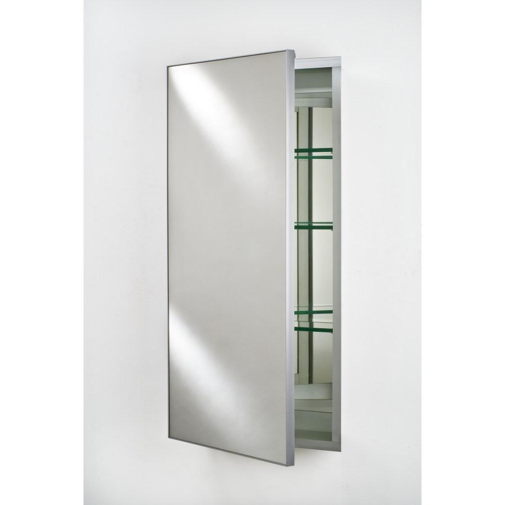 Recessed Medicine Cabinet Mirror Black