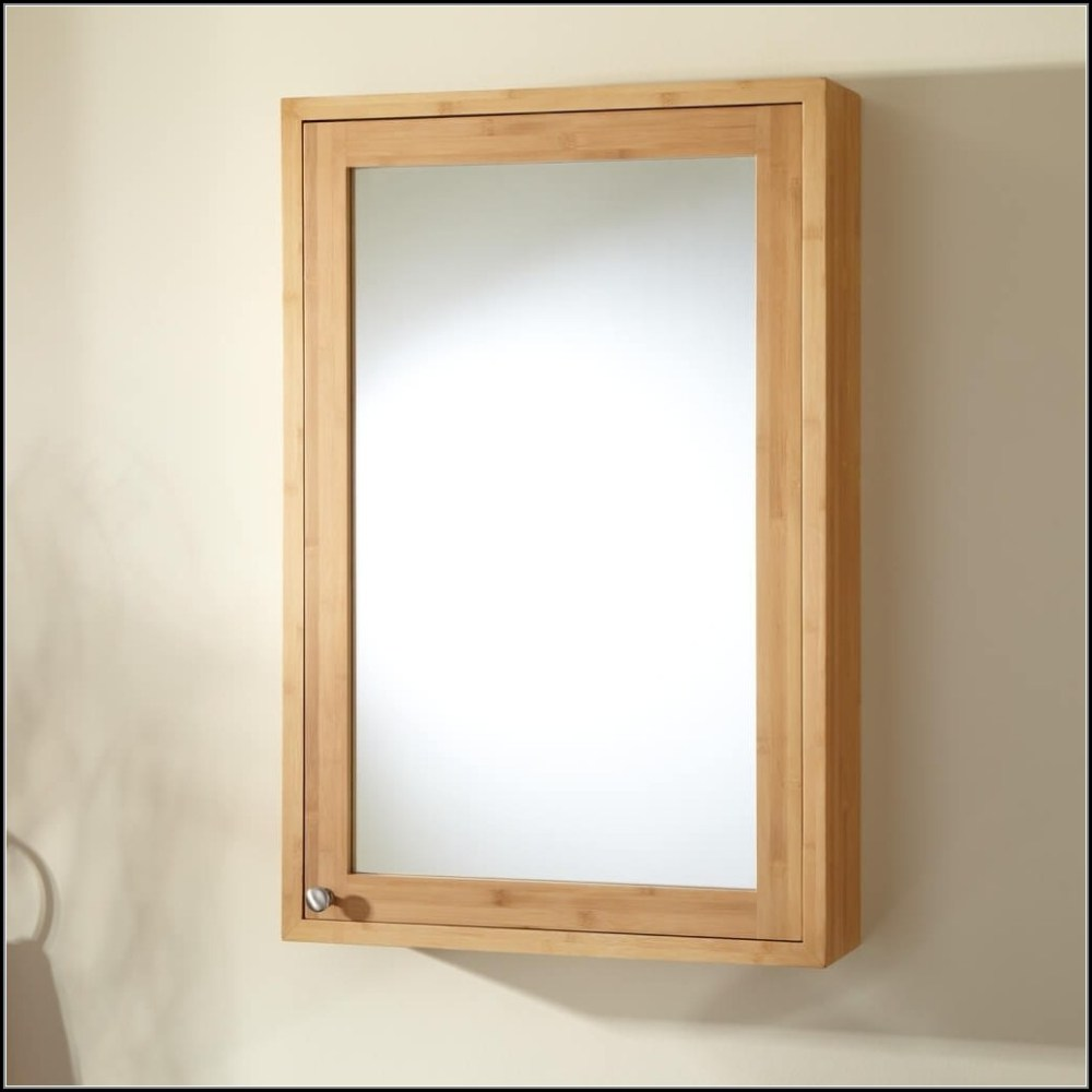 Recessed Medicine Cabinet With Built In Lights
