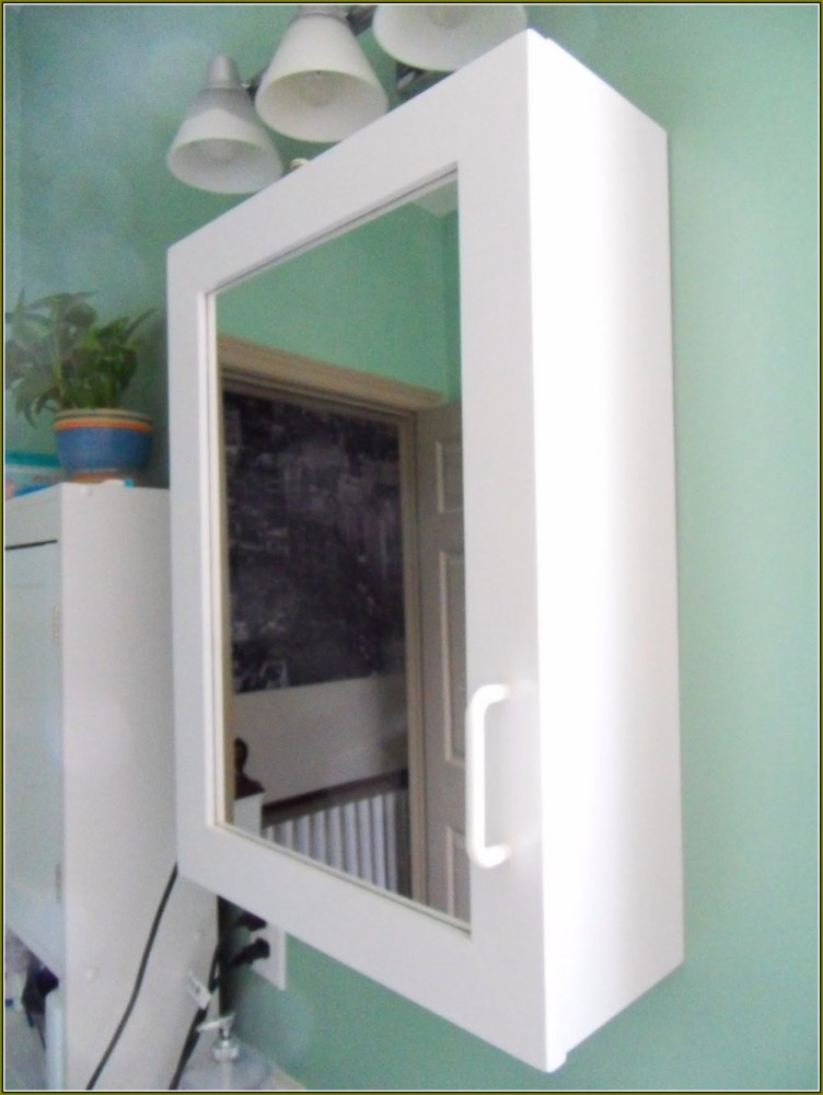 Recessed Medicine Cabinet With Lighted
