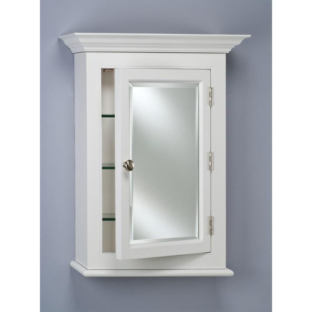 Recessed Medicine Cabinet With No Mirror