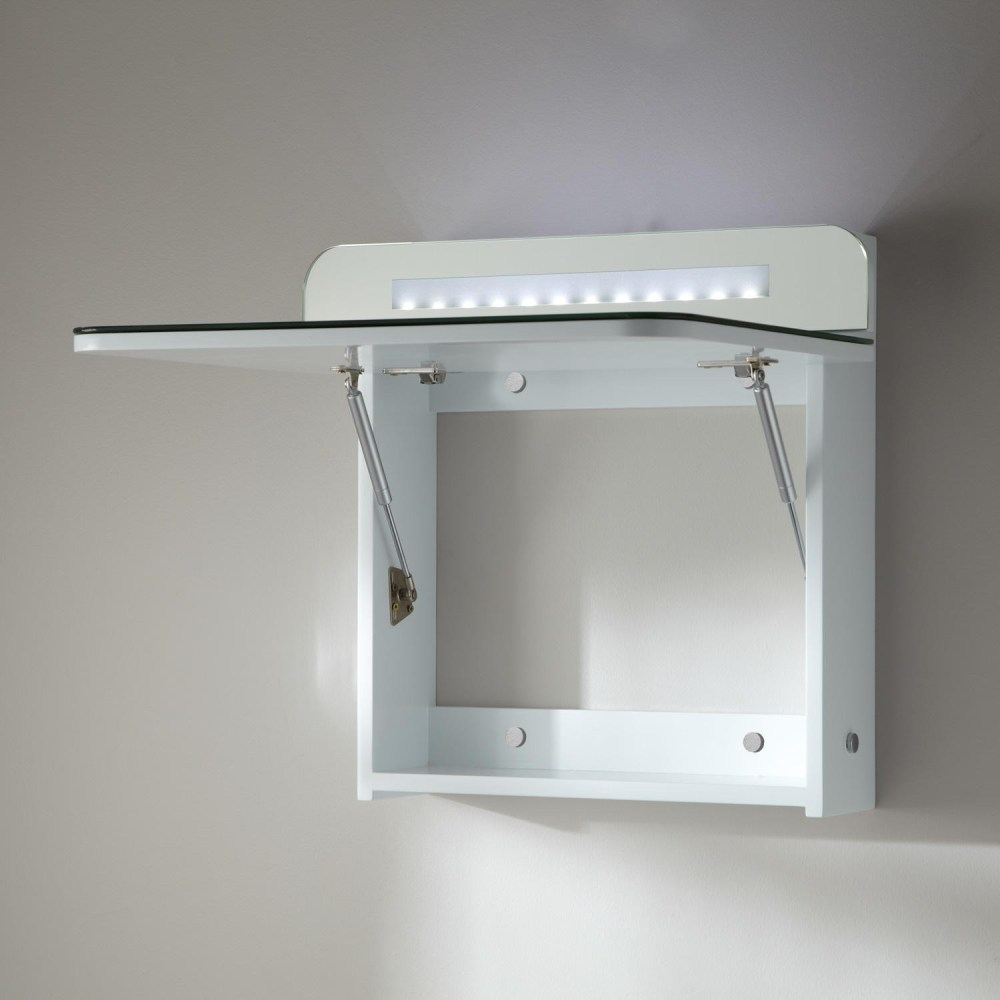 Recessed Medicine Cabinet With Outlet