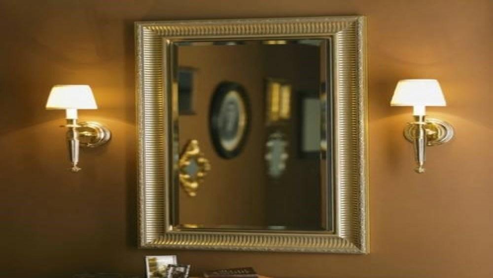 Recessed Medicine Cabinet Wood Frame