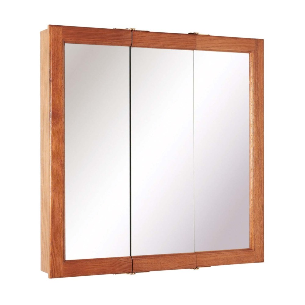 Recessed Wood Framed Medicine Cabinets