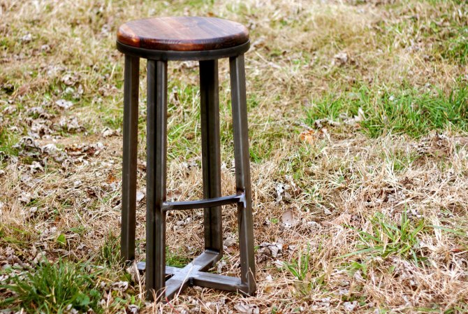Reclaimed Wood Bar Stools Seattle