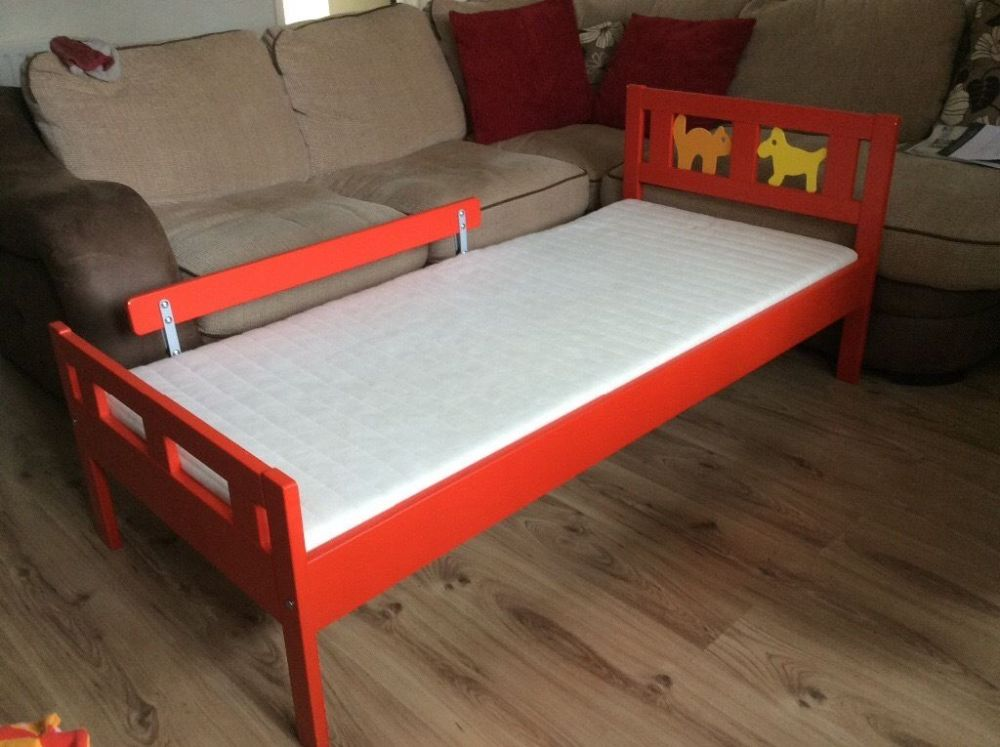 Red Toddler Bed Ikea