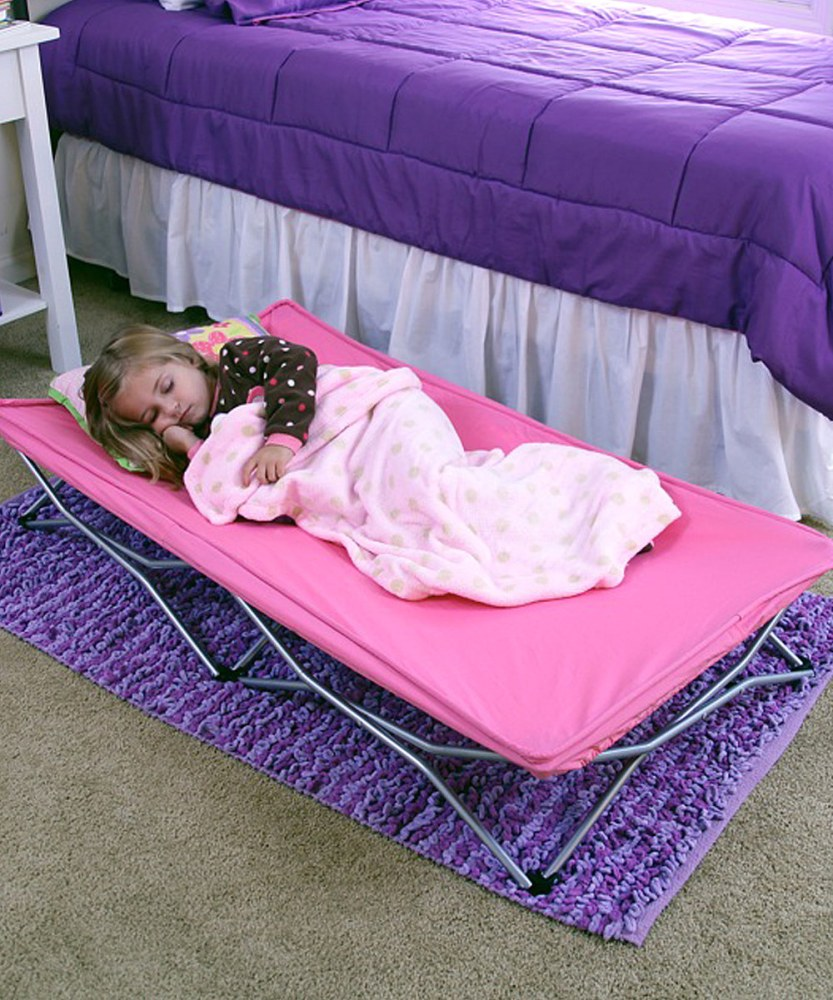 Regalo My Cot Portable Toddler Bed Pink