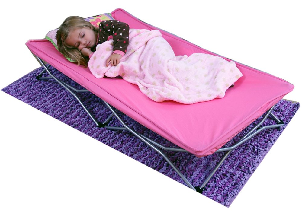 Regalo My Cot Portable Travel Bed Pink