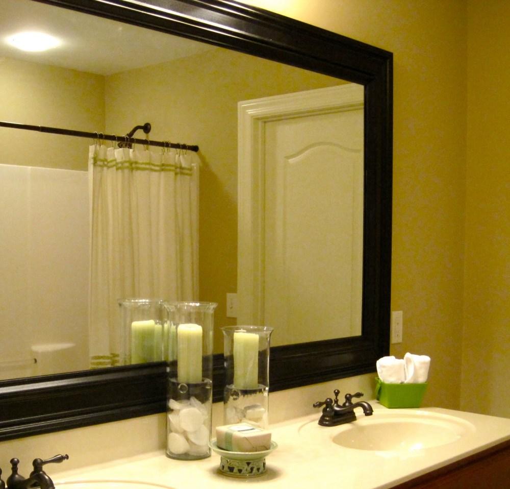 Replacing Medicine Cabinet Mirror