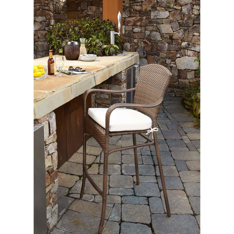 Resin Outdoor Patio Bar Stools