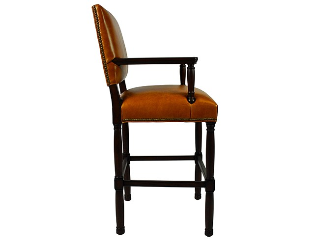 Restoration Hardware Bar Stools Leather