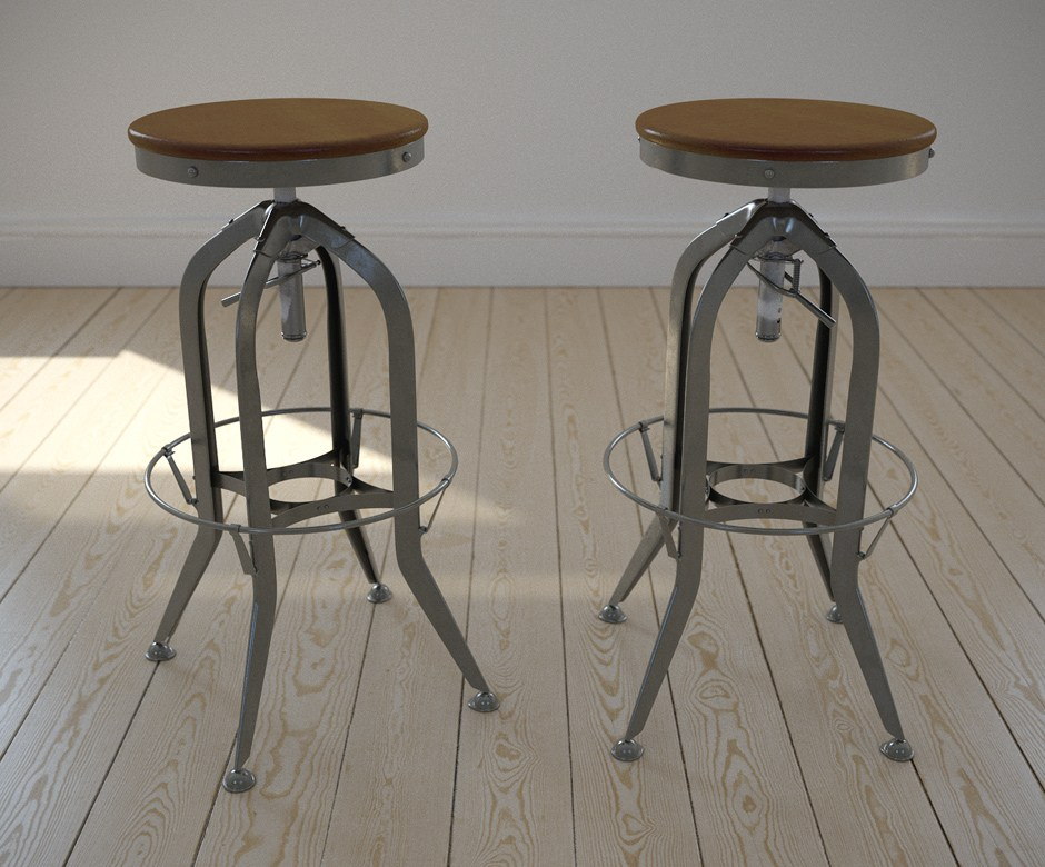 Restoration Hardware Toledo Bar Stools