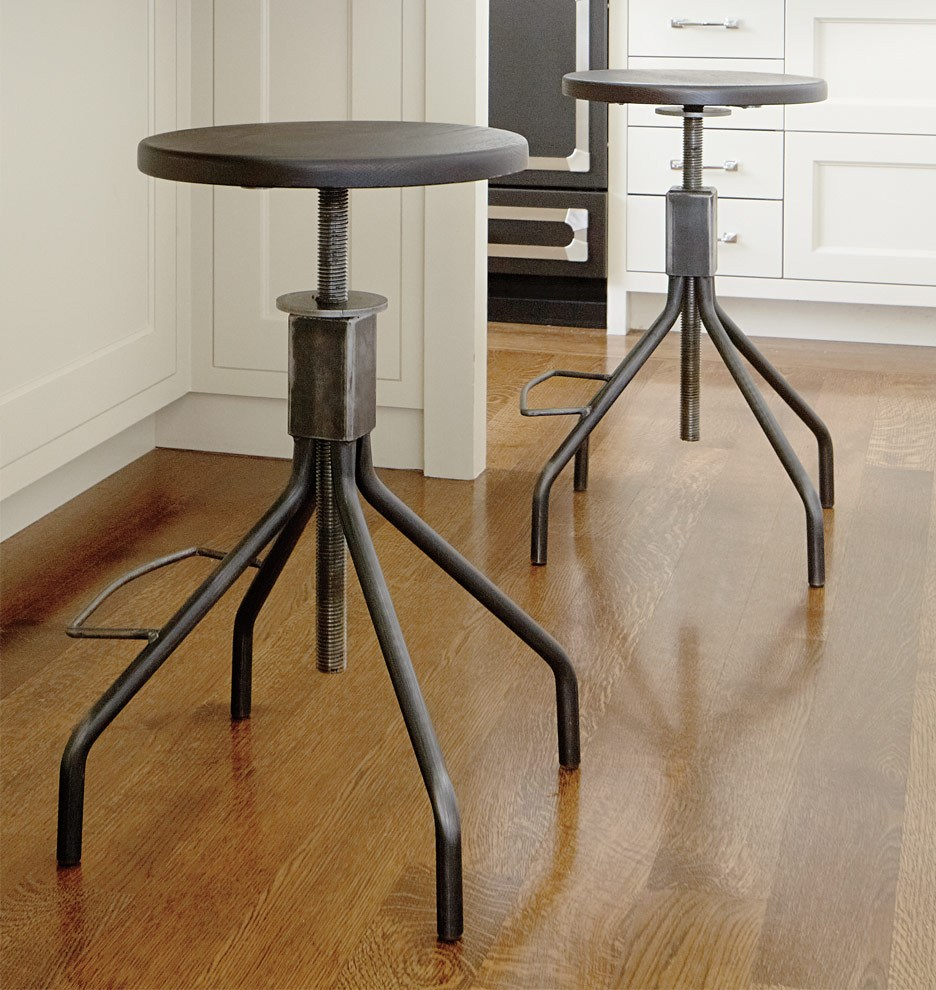 Retro Industrial Bar Stools