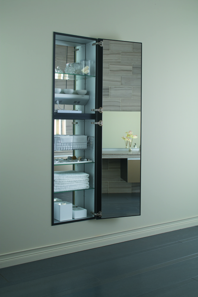 Robern Recessed Mirrored Medicine Cabinet