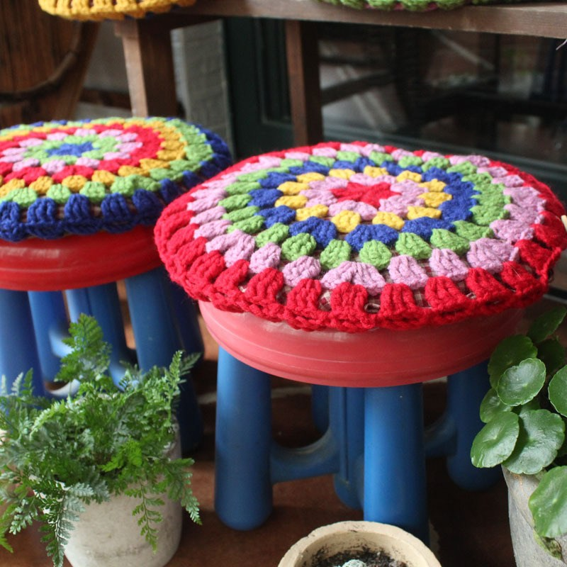 Round Bar Stool Cover Pattern