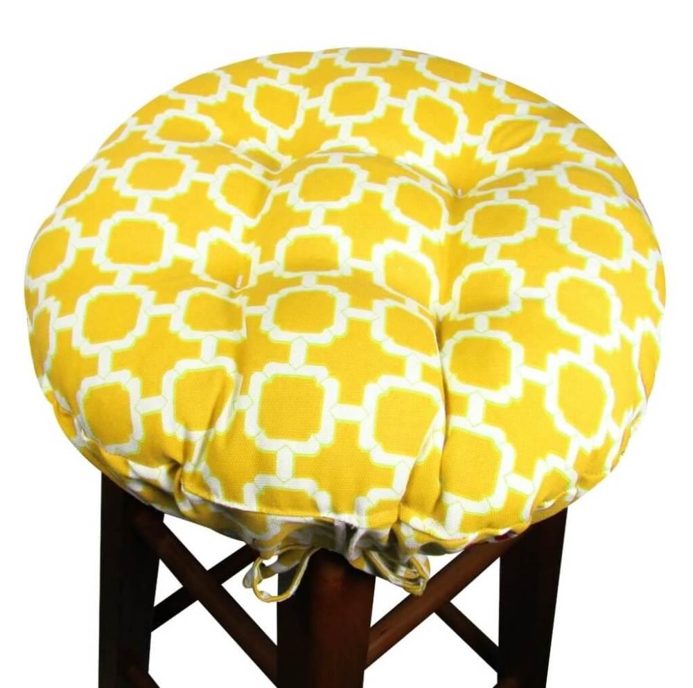 Round Bar Stool Cushion