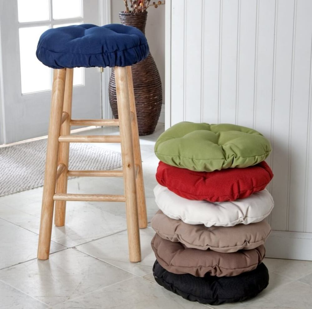 Round Bar Stool Cushions