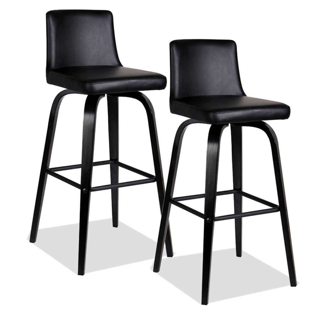 Round Black Bar Stools
