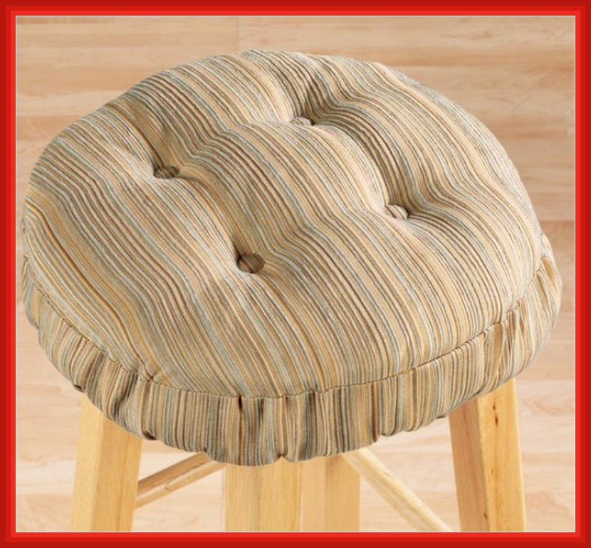 Round Elastic Bar Stool Covers