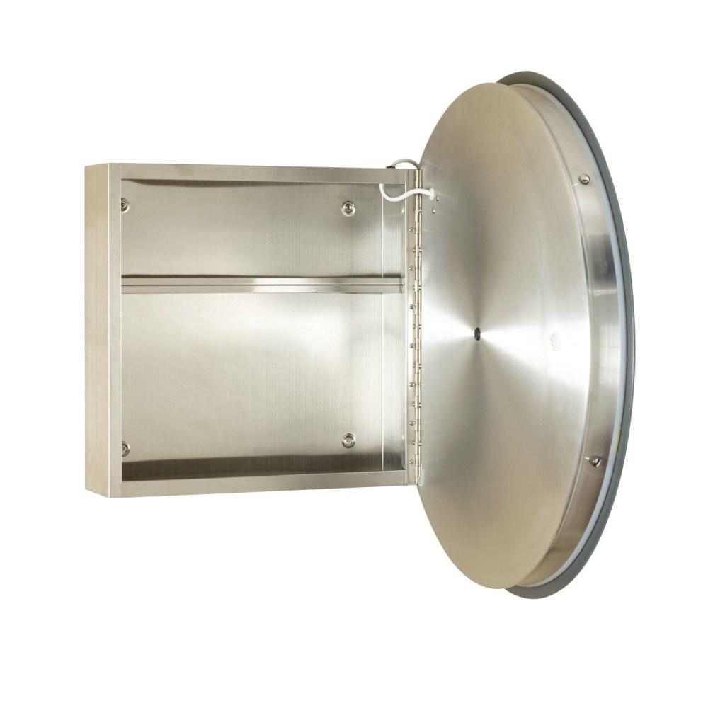 Round Medicine Cabinet Mirror