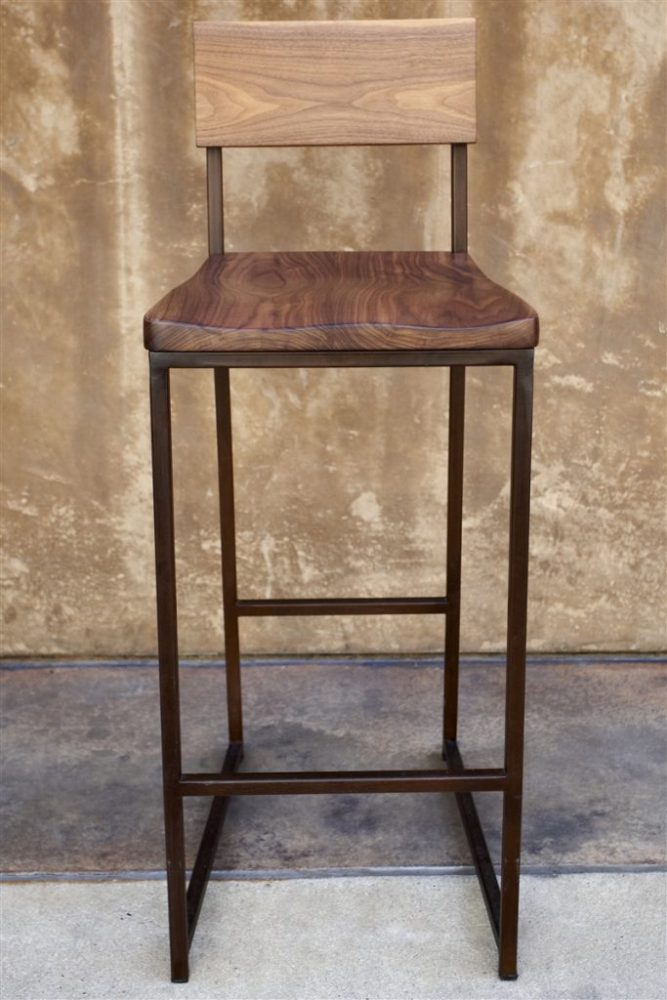 Round Wood Bar Stool Seat Replacement