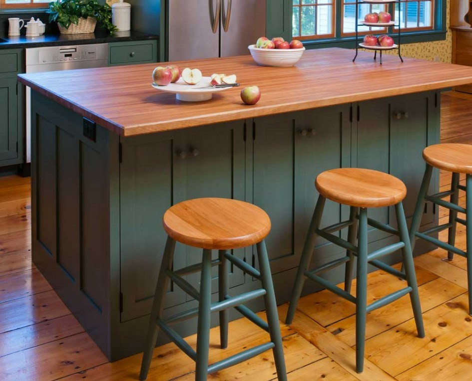 Round Wooden Bar Stool Tops