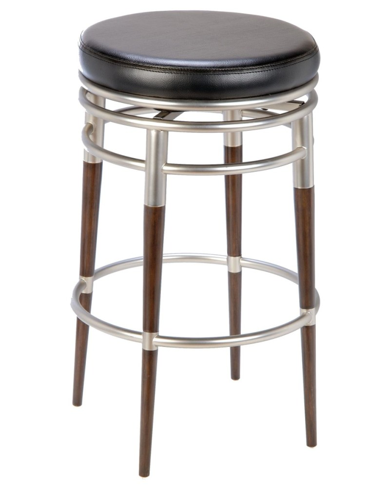 Round Wooden Bar Stools