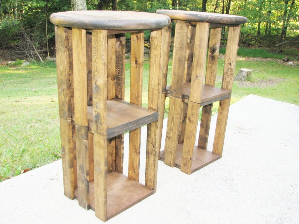 Rustic Bar Stools Diy