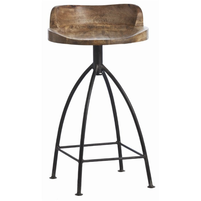 Rustic Bar Stools Swivel