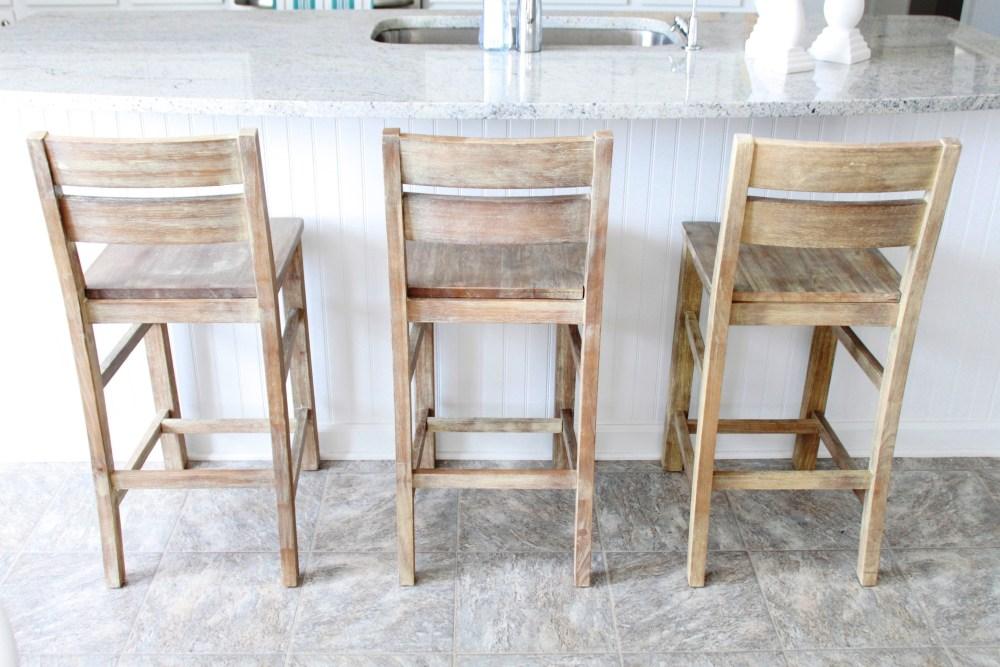 Rustic Bar Stools Wood