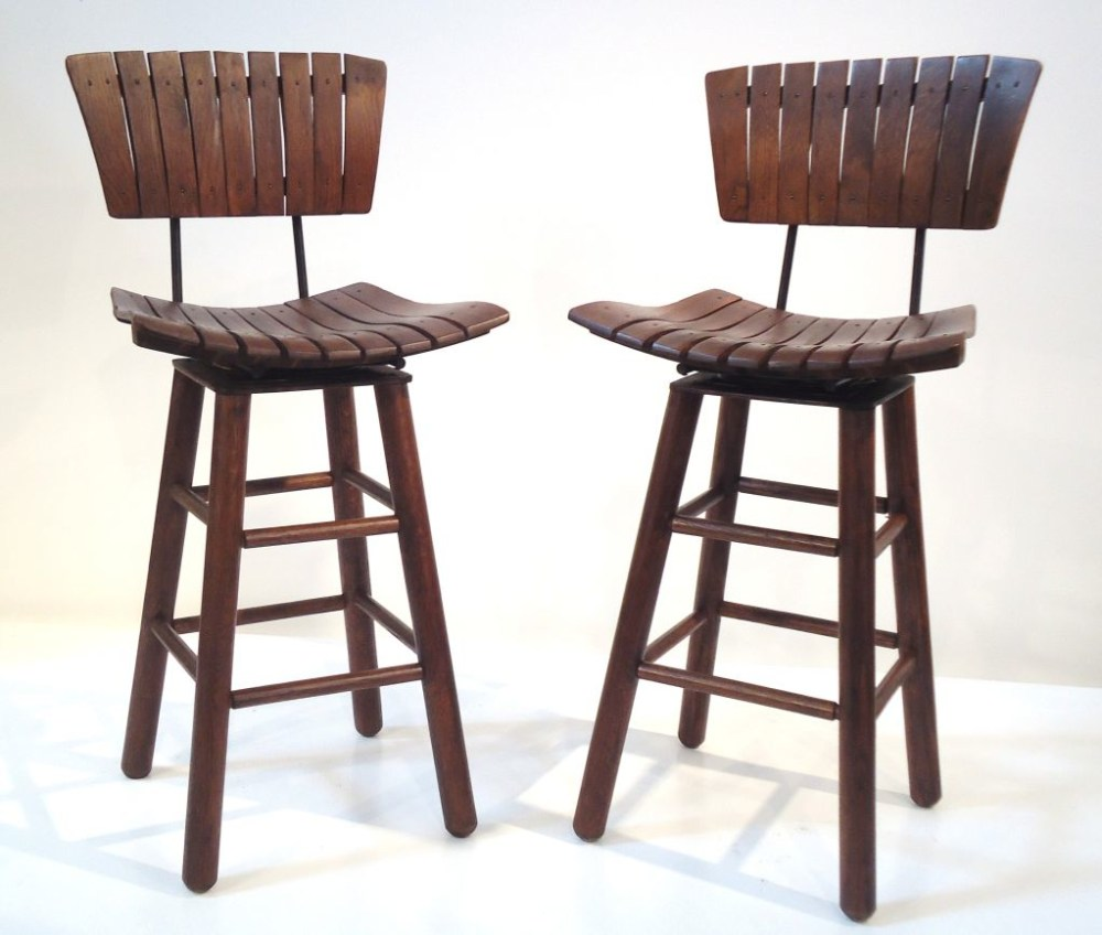 Rustic Counter Height Bar Stools