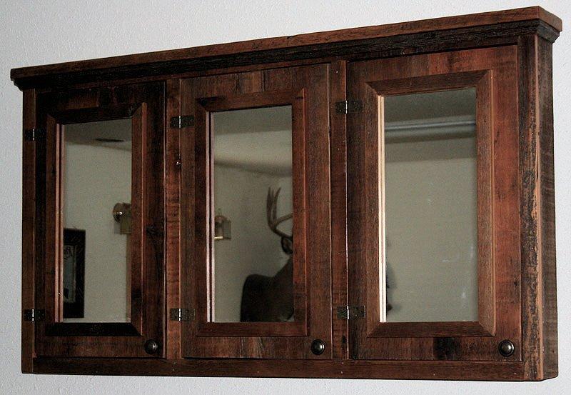 Rustic Medicine Cabinet Wood