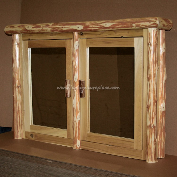 Rustic Pine Medicine Cabinets
