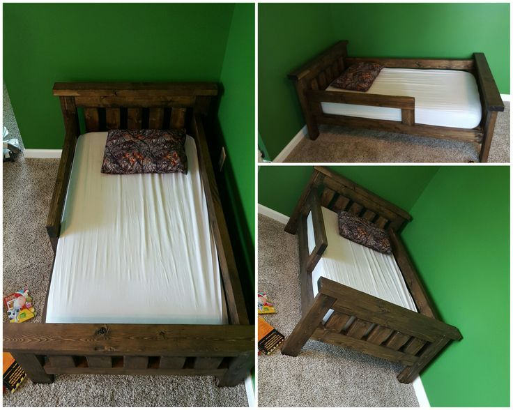 Rustic Toddler Bed