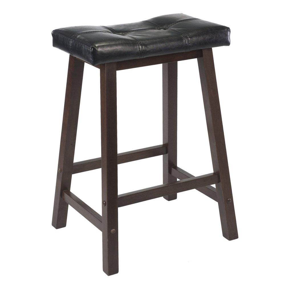 Saddle Bar Stool With Cushion