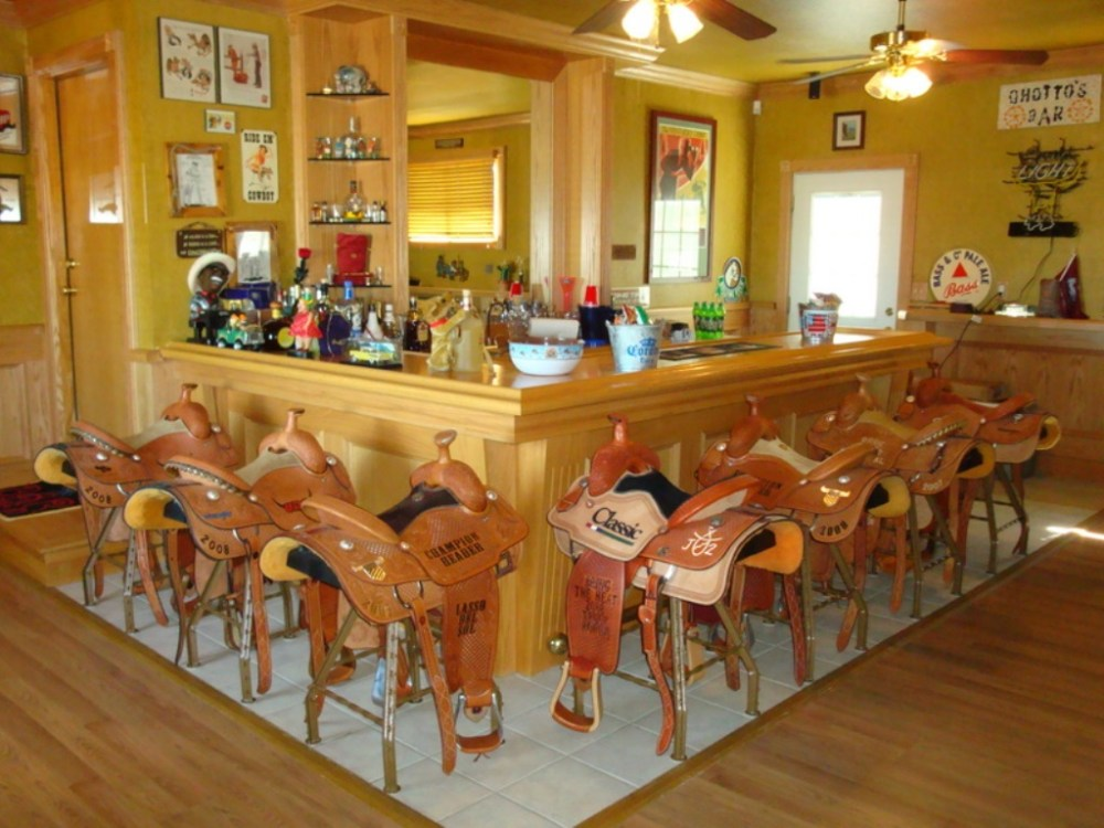 Saddle Seat Bar Stool Covers