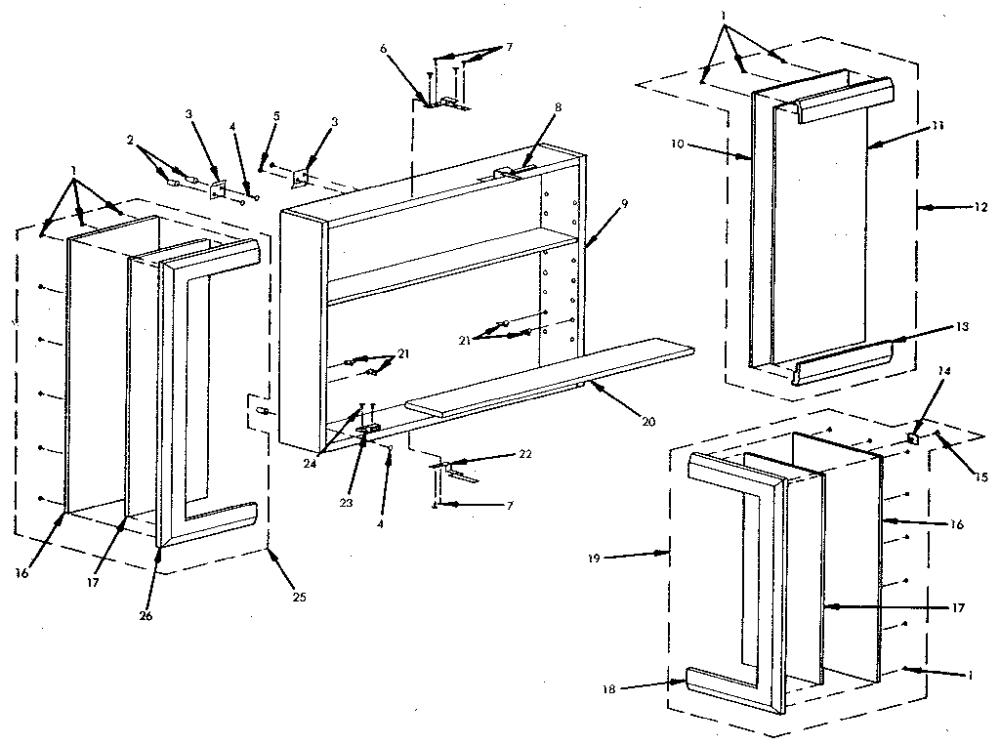 Sears Medicine Cabinet Parts