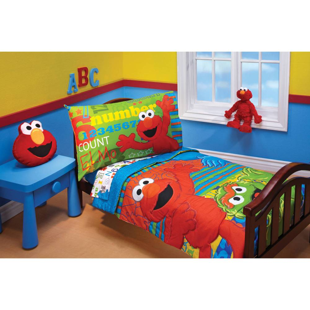 Sesame Street Toddler Bedding Walmart