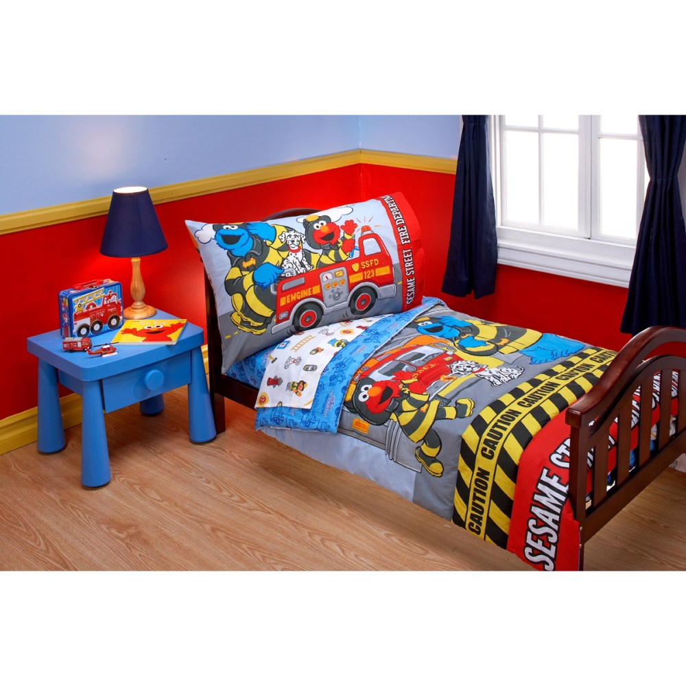 Sesame Street Toddler Bedding