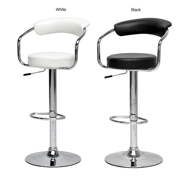 Set Of 2 Adjustable Bar Stools