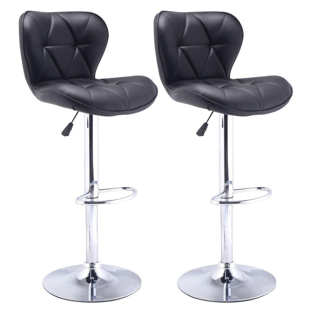 Set Of 2 Swivel Bar Stools