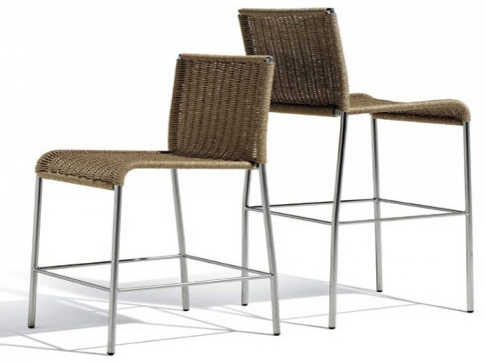 Set Of 4 Outdoor Bar Stools