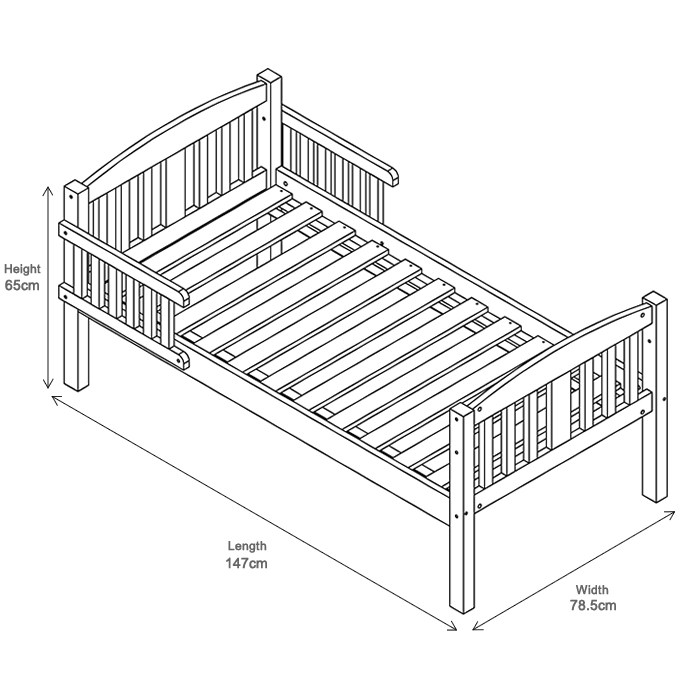 Size Of Toddler Bed